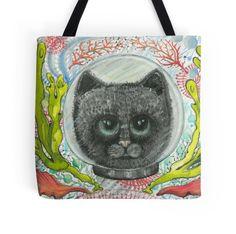 sea kitten beach bag by melanie dann