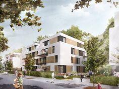 Detailansicht: Wohnungsbau Avenir