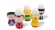Æggebægrets enkle form kan laves til alle mulige   sjove figurer. Brug blot acrylmaling, Posca marker   og fantasi!