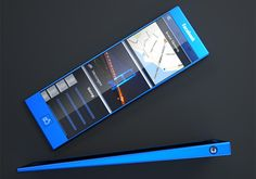 The Blue Experience – Facebook Phone by Tolga Tuncer