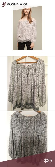 🎉FINAL🎉Anthropologie Eri+Ali Trailward Peasant Excellent content. Like new. Anthropologie Tops