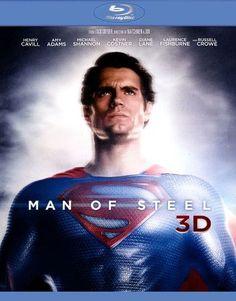 Man of Steel 3D [4 Discs] [Includes Digital Copy] [UltraViolet] [3D] [Blu-ray/DVD] [Blu-ray/Blu-ray 3D/DVD] [2013]