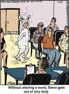 Jury Duty cartoons, Jury Duty cartoon, funny, Jury Duty ...