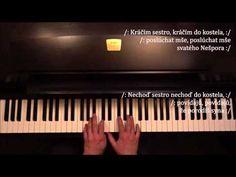 Byla cesta, byla ušlapaná + noty pro piano - YouTube Piano, Music Instruments, Youtube, Musical Instruments, Pianos, Youtubers, Youtube Movies