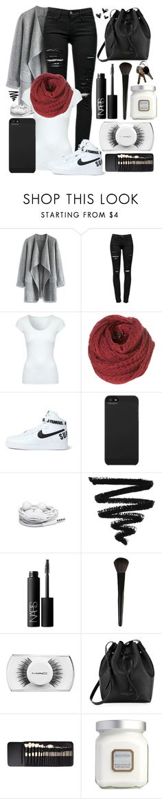 """""""#8"""" by oneandonlyfashion ❤ liked on Polyvore featuring Chicwish, Frame, Jane Norman, NIKE, Incase, Urbanears, NARS Cosmetics, INIKA, MAC Cosmetics and Kenneth Cole"""