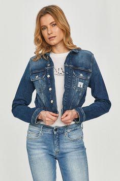 Geaca din colectia Calvin Klein Jeans. Model neizolat confectionat din denim. Calvin Klein Jeans, Denim, Jackets, Fashion, Down Jackets, Moda, Fashion Styles, Fashion Illustrations, Jacket