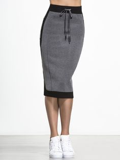 Jadyn Skirt in Granite by Lime & Vine from Carbon38