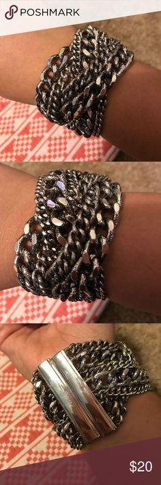 Loft Chain Bracelet Loft chain bracelet. Magnetic closure LOFT Jewelry Bracelets