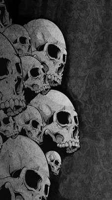 Pile of Skulls #goth