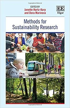 Methods for Sustainability Research (EBOOK) : http://dx.doi.org/10.4337/9781786432735