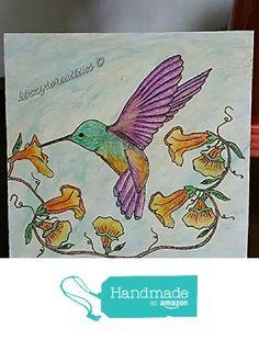 Hummingbird Mixed Media Pyrography Designs from Kizzy's Creations http://www.amazon.com/dp/B01DI94RTO/ref=hnd_sw_r_pi_dp_avd-wb1W0ZTKT #handmadeatamazon