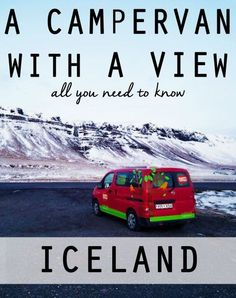 Iceland Campgrounds I Iceland Camper van I Happy Campers Iceland I Iceland Travel