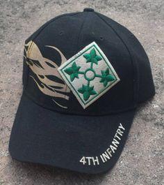 4th Infantry Division Iron Horse Baseball Cap - Meach's Military Memorabilia & More