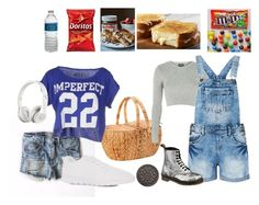 """""""Picnic with my bff"""" by christina-cookie ❤ liked on Polyvore featuring John Lewis, Topshop, Été Swim and Beats by Dr. Dre"""