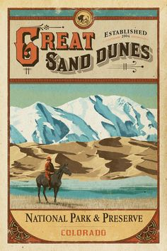 Great Sand Dunes National Park Poster