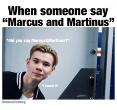 every moment where listen the Marcus ans Martinus❤names! Keep Calm And Love, I Love You, My Love, Twin Boys, Twin Brothers, Dream Boyfriend, Love U Forever, Normal Person, When Someone