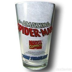 Images of Spiderman by John Romita Sr. Clear Pint Glass