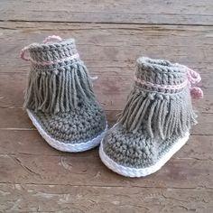 PATRON Botines Dakota de crochet. Descarga por ShowroomCrochet