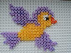 Vogelbaby aus Bügelperlen  Perler Beads