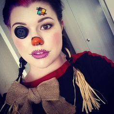 Scarecrow by LexiAngelina. Tag your pics with #Halloween and #SephoraSelfie on Sephora's Beauty Board for a chance to be featured!