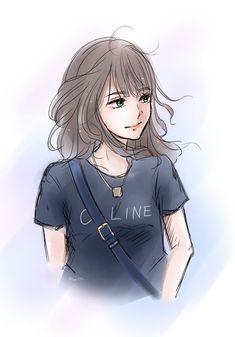 Lisa Lalisa Manoban Blackpink LISA Lisa Blackpink [lalalalisa_m] Cool Anime Girl, Cute Cartoon Girl, Pretty Anime Girl, Beautiful Anime Girl, Kawaii Anime Girl, Anime Art Girl, Lisa Blackpink Wallpaper, Cartoon Kunst, Cute Girl Drawing