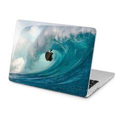 Sea waves macbook air 13 2019 surfing print mac pro 15 hard case apple laptop cover mac 2017 hard co Apple Laptop Covers, Macbook Air 13 Cover, Apple Laptop Macbook, Macbook Air 11 Inch, Macbook Case, Macbook Pro Tips, Ipad Air 2 Cases, Mac Pro, Sea Waves