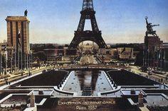 Exposition Internationale Paris 1937 #WorldsFair #Expo2015 #Milan #Paris1937