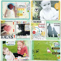 Project Life ::: week 9   Flickr - Photo Sharing! Love these PL pages