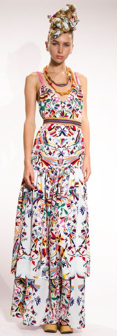 Patrón Otomí, mi amor Fusion of Mexican Otomi embroidery & modern style - - I like these and the appeal of Mexican art, color & design - You are your best outfit. Find out how. CLICK THE PHOTO :)