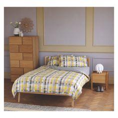 HANA II Oak 1 drawer bedside table   Buy now at Habitat UK