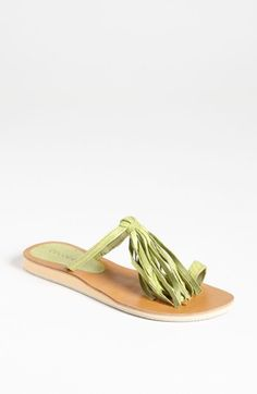 494c7baf186ec1 Cocobelle Fringe Sandal Toe Ring Sandals