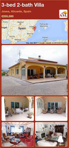 3-bed 2-bath Villa in Javea, Alicante, Spain ►€255,000 #PropertyForSaleInSpain
