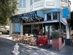 Chez Papa (18th Street San Francisco) - Cute little french Bistro worth a visit and if you want a quick bite go over to Chez Mama round the corner.