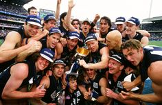 1995 Grand Final: Carlton 21.15.141 def Geelong 11.14.80. Carlton Afl, Carlton Football Club, Kelly's Heroes, Club 16, Go Blue, Great Team, Sweet 16, Melbourne, Legends