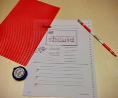 Criminal Words Kit review- use for practicing sight words in an O-G program.