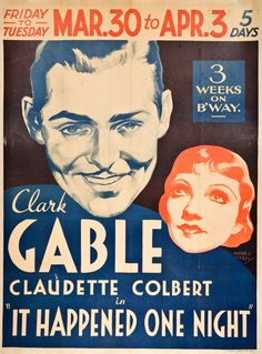 1934 It Happened One Night - Google Search