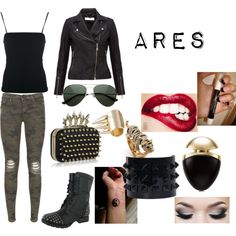 a female ares would probably wear this Percy Jackson Outfits, Percy Jackson Fandom, Supernatural Outfits, Madison Style, Nerd Fashion, Fandom Outfits, Greek Clothing, Jackson Life, Character Outfits