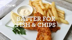 If you've ever wanted to make fish and chips at home this simple but delicious batter recipe will give you battered chunks of fish as golden and crunchy as the local fish and chips shop's. British Fish And Chips, Best Fish And Chips, Homemade Fish And Chips, Vegan Fish And Chips, Fried Fish Recipes, Seafood Recipes, Cooking Recipes, Fish And Chips Batter, Best Fish Batter