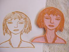 Alma Stoller: Carve Your Own Rubber Stamp Tutorial