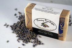Lavender Olive Oil Soap  Vegan Soap by dancinggrasshopper on Etsy