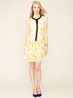 Ali Ro   Portland Graphic Floral Shirt Dress  $139 Gilt