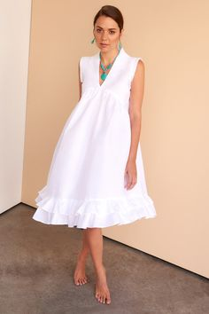 a9b1532f82 91 Best White linen dresses images in 2019