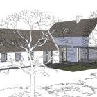 EXISTING COTTAGE RENOVATION WITH EXTENSION, RATHCORMAC, CO.CORK | Louise Sliney Architects House Extension Design, Extension Designs, House Design, Lac Louise, Cottage Renovation, Shop Displays, House Extensions, Cork, Architects