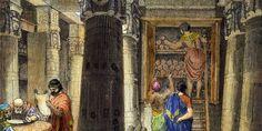 La total desaparición de los libros de la biblioteca alejandrina ha sido siempre un interrogante para los historiadores. ¿Fue la biblioteca víctima de un incendio en época de César, de la hostilidad de los cristianos o de los conquistadores musulmanes?