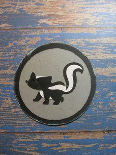 Campin Critters Badge - Skunk
