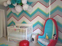 Wand Gestaltung Kinderzimmer