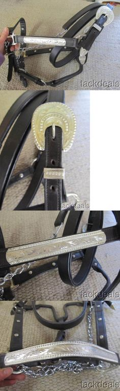 Halters 139601: New Berry Raised Edge Fancy Silver Western Horse Show Halter -> BUY IT NOW ONLY: $59.99 on eBay!