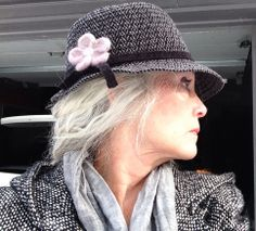 Love to wear hats, winter or summer.