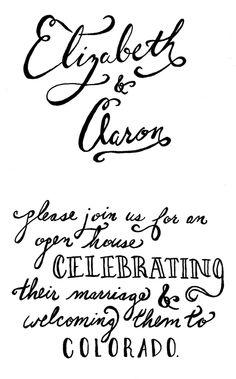 Sarah Fritzler: current work: hand lettering