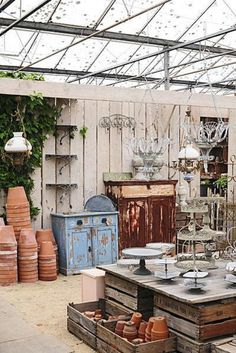 .Would love my studio to be like this! Imagine in the rain!!!